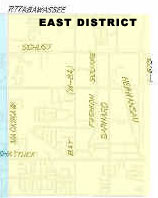 east district map